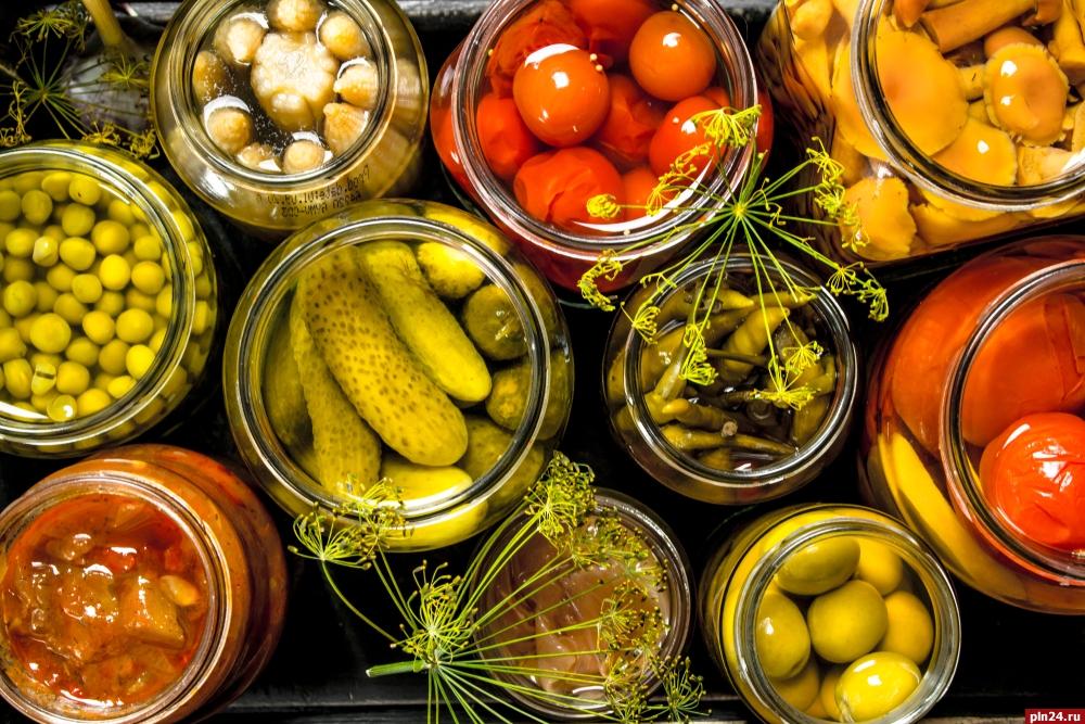 картинки овощных заготовок говорить про