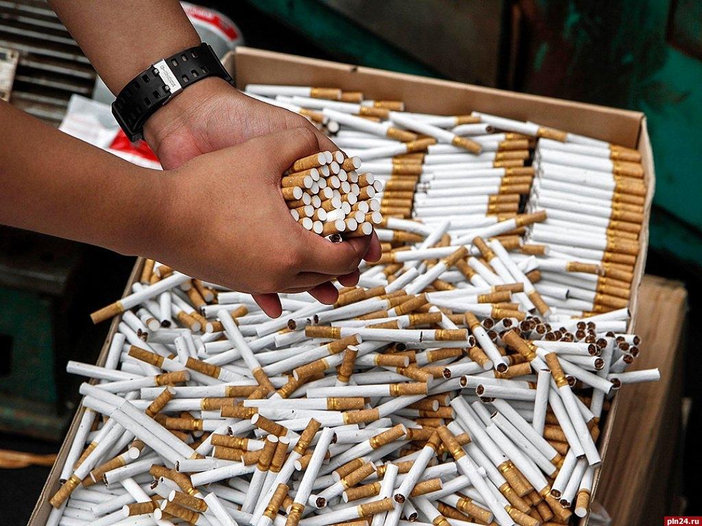 контрафакт табачные изделия